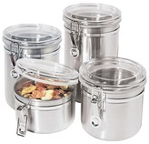 Oggi Stainless Steel Canister Set 4pc