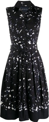 Samantha Sung Audrey flared shirt dress