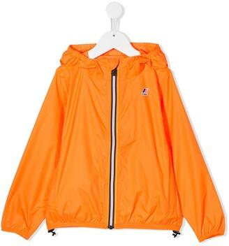 K Way Kids Hooded Shell Jacket