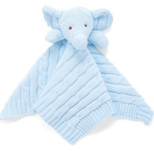 3stories 3 Stories Trading Knit Elephant Security Blanket