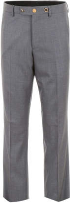 Burberry Wool Trousers With Buttons
