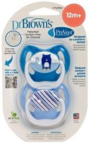 Dr Browns Dr. Brown's PreVent Design Pacifier, Boys, Stage 3, 12+ Months by Dr. Brown's