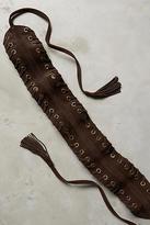 Anthropologie Eyelet Wrap Belt