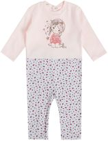 Benetton Girls Top and Bottom Cute Girl Pyjamas