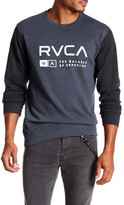 RVCA Associate Crew Neck Sweatshirt