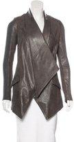 Yigal Azrouel Asymmetrical Leather Jacket