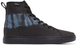 Paul Smith Black Tie-Dye Dreyfuss Sneakers
