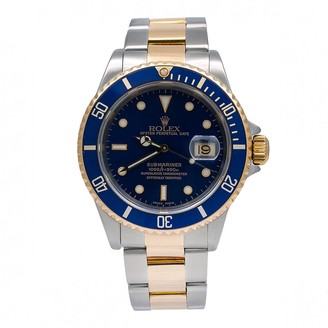 Rolex Submariner Blue gold and steel Watches