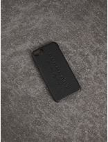 Burberry Leather iPhone 7 Case, Black