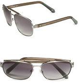 Fossil 60mm Square Sunglasses