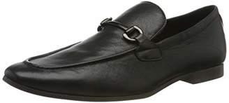 Aldo Men's EREZ Loafers, Black Leather 97