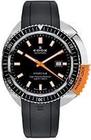 Edox Men's 80301 3NOCA NIN Hydro Sub Analog Display Swiss Automatic Black Watch