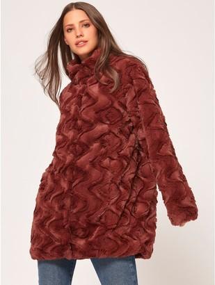 M&Co Vero Moda faux fur coat