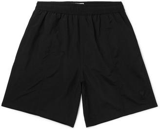 Ami Slim-Fit Mid-Length Logo-Appliqued Swim Shorts