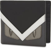 Fendi Monster Leather Billfold Wallet
