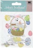 Jolees Jolee's Boutique Egg Basket Dimensional Stickers