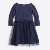 J.Crew Factory Girls' sequin tulle dress