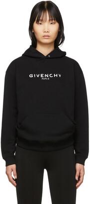 Givenchy Black Vintage Hoodie