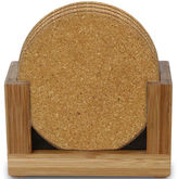 JCPenney Thirstystone Bamboo Set of 6 Coasters