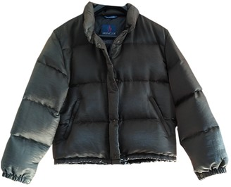 Moncler Classic Green Coat for Women Vintage