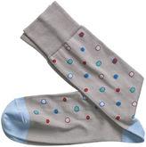 Johnston & Murphy Framed Dots Socks