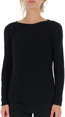 'S Max Mara Scoop Neck Pullover
