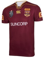 Canterbury of New Zealand QLD Maroons State of Origin 2017 Men's Jersey