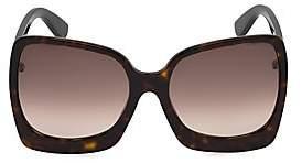 Tom Ford Women's Emmanuella 60MM Oversize Square Sunglasses