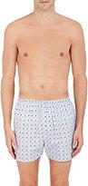 Sunspel Men's Diver-Print Cotton Boxers