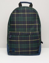 Mi-Pac Mi Pac Backpack In Plaid