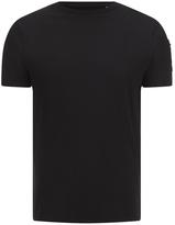 Brave Soul Men's Kershaw Pocket Sleeve T-Shirt - Jet Black