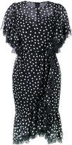 Dolce & Gabbana polka dot flounced dress