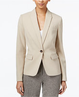 Tommy Hilfiger One-Button Elbow-Patch Jacket