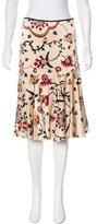 Temperley London Silk Knee-Length Skirt