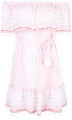 Lemlem Rekik off the shoulder dress
