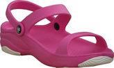 Dawgs Women's Premium 3 Strap Sandal with Rubber Sole
