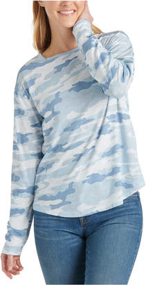 Lucky Brand Cotton Camo-Print T-Shirt