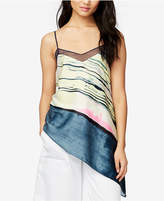 Rachel Roy Asymmetrical Colorblocked Top, Only at Macy's