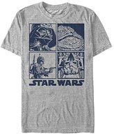 Star Wars Men's Baddies Graphic T-Shirt