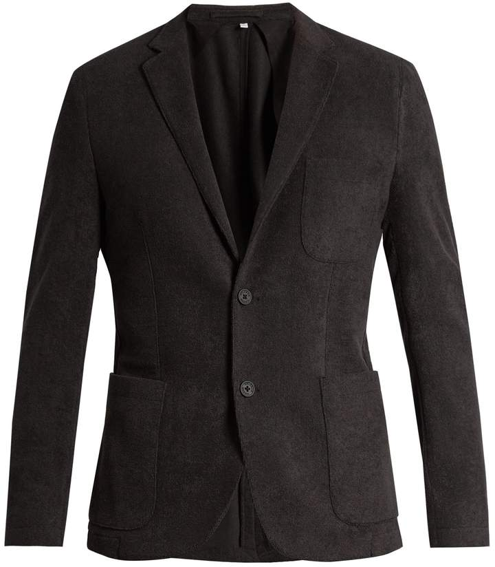 Orlebar Brown Edgar cotton terry-towelling blazer