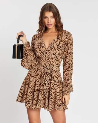 Atmos & Here Lucy Mini Wrap Dress