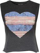 Topshop Petite American Heart Vest