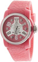 Christian Audigier Women's Intensity INT-319 Rubber Quartz Watch with Dial