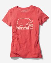 Eddie Bauer Women's Graphic T-Shirt Co. - Bear