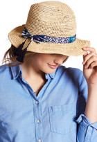 Hat Attack Bow Fringe Tassle Fedora