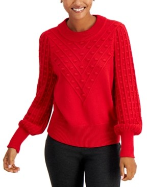 Charter Club Popcorn Sweater, Created for Macy's