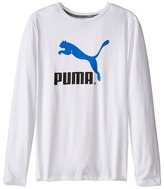 Puma Kids No.1 Long Sleeve Logo Tee (Big Kids)