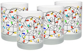 Culver Multi Frosted Lights Glass - Set of 4