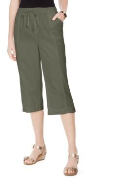 Karen Scott Capri Pull-On Pants, Created for Macy's
