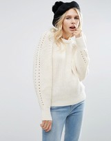 Asos Sweater with Exaggerated Sleeve